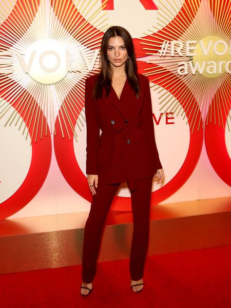 Actress/model Emily Ratajkowski attends Revolve's second annual #REVOLVEawards at Palms Casino Resort.