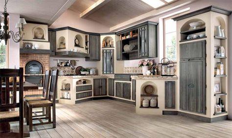 cucina per taverna country - Cerca con Google | Interni ...