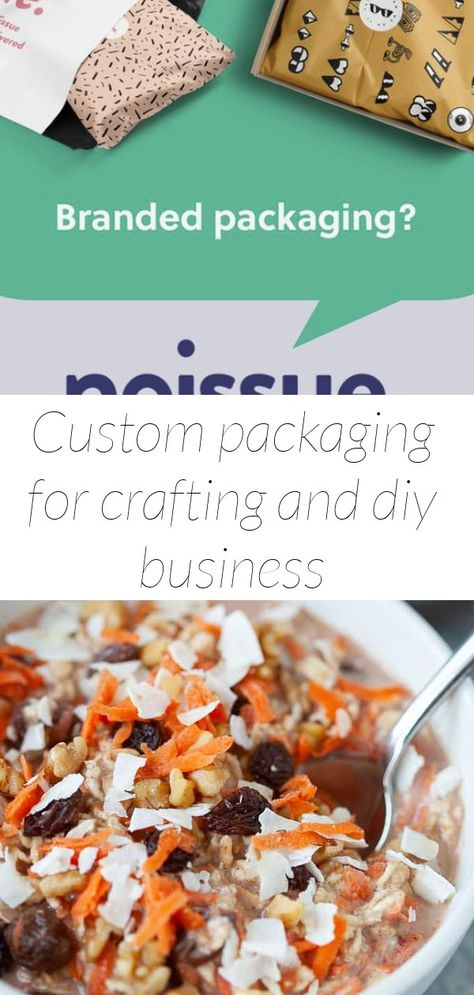 Custom packaging for crafting and diy business
