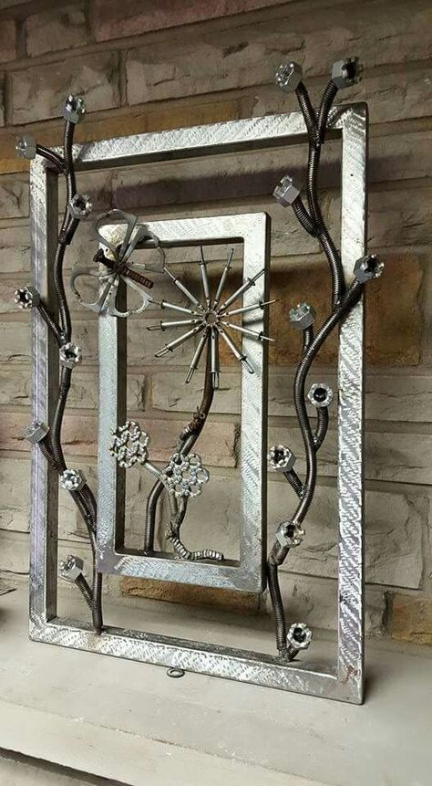 Metal art created by - Atomic Vault 9 See on Etsy/Facebook