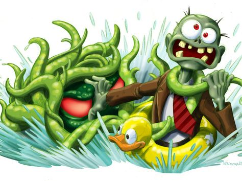 Which Plants Vs Zombies Character Are You Zombie Art Plants