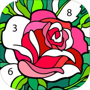 Happy Color Color By Number By X Flow Coloring Apps Happy Colors Coloring Books