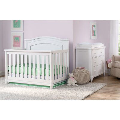 Simmons Kids Belmont Standard 4 Piece Nursery Furniture Set Color Bianca White In 2020 Nursery Furniture Sets Crib Sets Nursery Furniture Collections