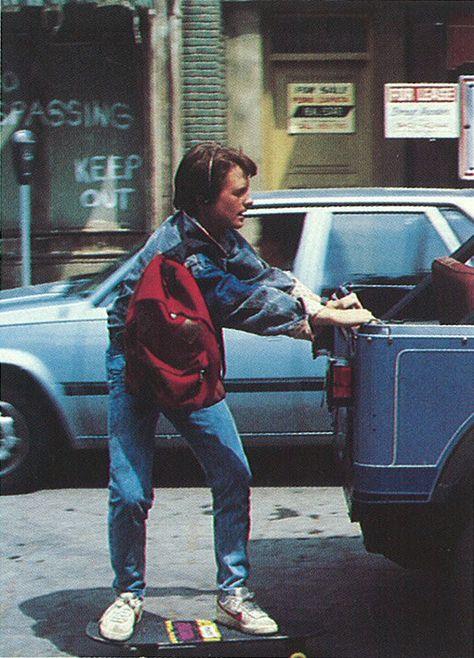 Michael J. Fox - Back to the Future by Robert Zemeckis1985 oh my gosh @cjilly14 @cjilly14 @marqm1 @WishIwasflying