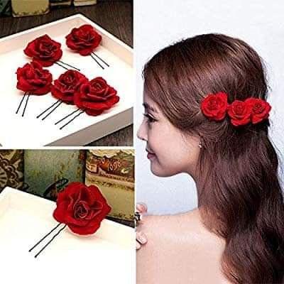 Festival headband hippie hair accessory red teens fashion headband handmade ecofriendly embellished fashion gift hair jewellery girls.