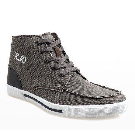 Polbuty Meskie Butymodne Brazowe Eleganckie Polbuty Wysokie F10455 High Top Sneakers Shoes Top Sneakers