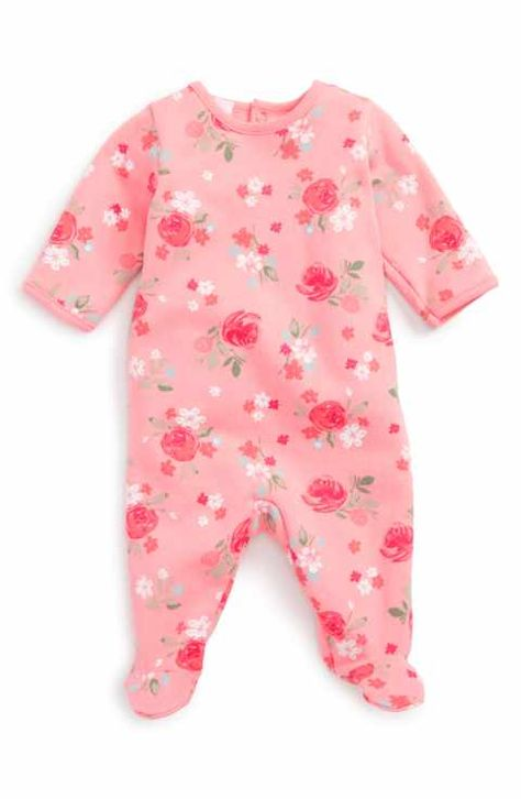 0c66c3f72 Petit Bateau Floral Print Footie (Baby Girls) | For My Future Baby ...