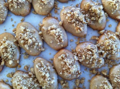 Melos - Honey-Drenched Spice Cookie  My mother Voula's favorite!