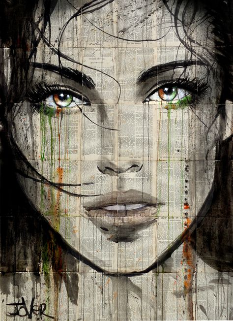 (CreativeWork) ANOTHER KIND by loui jover. drawing. Shop online at Bluethumb.