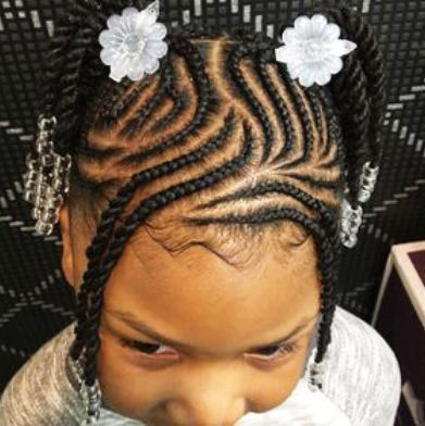 Toddler Braided Hairstyles With Beads Hairstyles Haircuts For African American Toddler Braids Toddler Braided Hairstyles Girls Hairstyles Braids