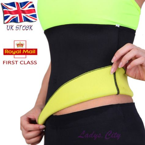Hot Neoprene Slimming Waist Training Belts Body Shaper Corsets Yoga Fitness Tops
