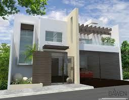 Fachadas De Casas Modernas De Dos Pisos En Mexico Google Search Facade House House Exterior Architecture House