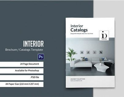 Check out new work on my @Behance portfolio  - interior design brochure template