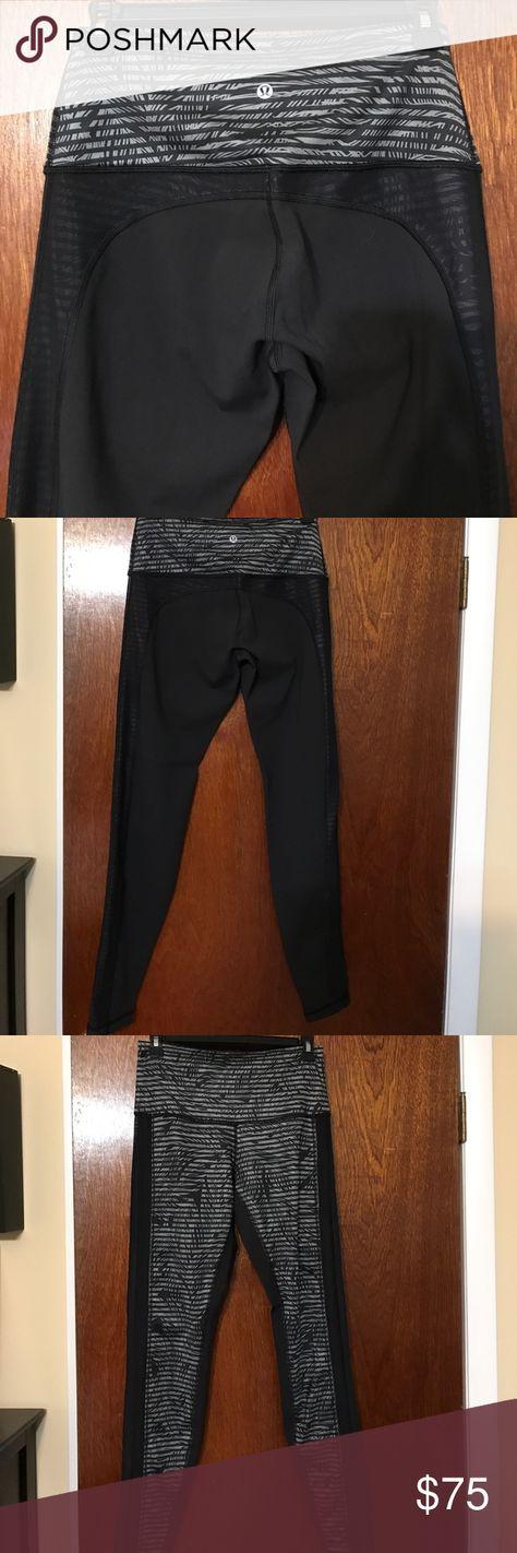 1f38b19709ec74 New size 8 sexy lulu lemon workout leggings Sexy workout leggings, see  through mesh on
