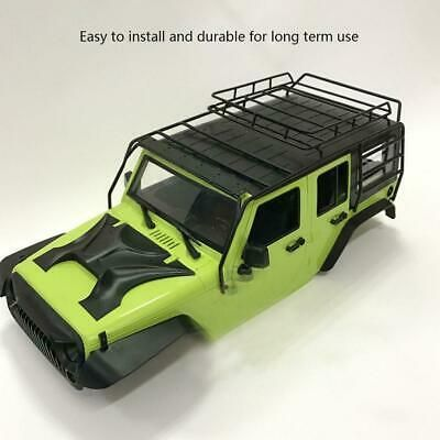 Advertisement For Jeep Wrangler 1 10 Scale Crawler Car Metal Rc Roof Rack Luggage Rc Parts C In 2020 Car Roof Racks Roof Rack Rc Remote
