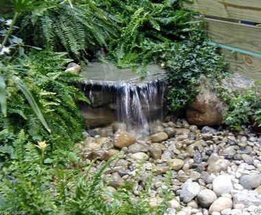 Custom Pro Complete Pondless Waterfall Kits Water Features In The Garden Ponds Backyard Backyard Water Feature