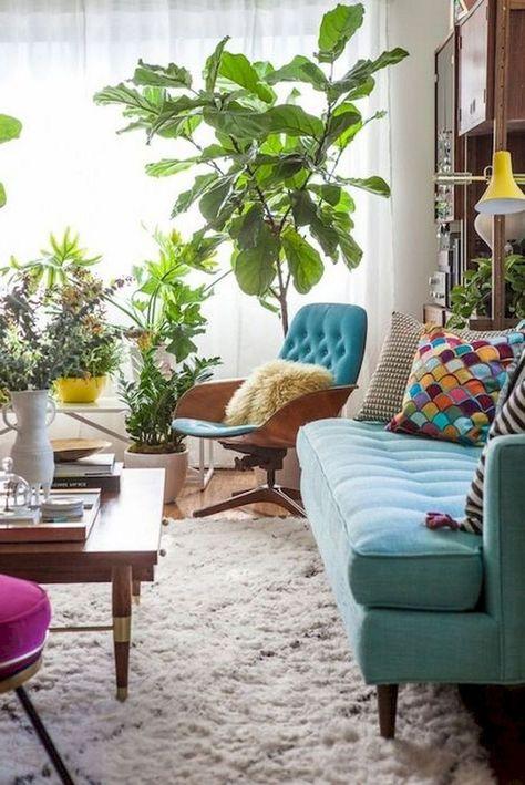 46 Etonnantes Idees De Decoration De Salon Moderne Au Milieu Du