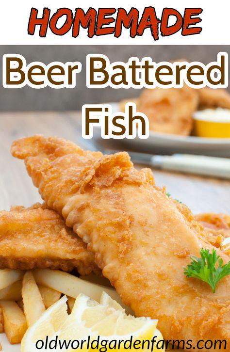 buy popular 589b8 ad4b0 Homemade Beer Battered Fish