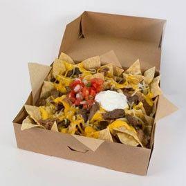 Taco Bell Steak Nachos Box Takeaway Packaging Food Packaging Design Nachos