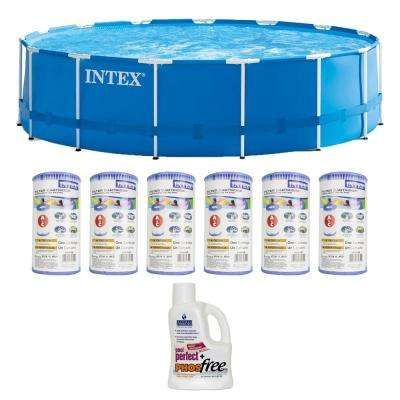 Above Ground Pools Pools The Home Depot Frame Pool Intex In Ground Pools