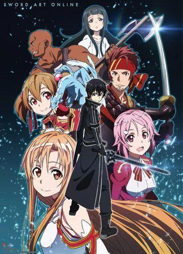 Details About Legit Poster Sword Art Online Anime Yui Kirito