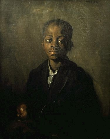"""Children in Art: Robert Henri """"Portrait of Willie Gee 1904"""