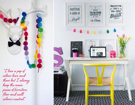 Pop of color for your desk space. Adore Winter Edition