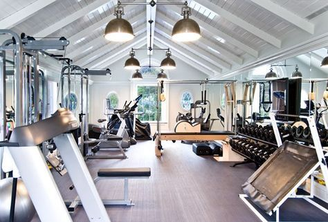 25 Stunning Private Gym Designs For Your Home Gym Room At Home Home Gym Design Dream Home Gym