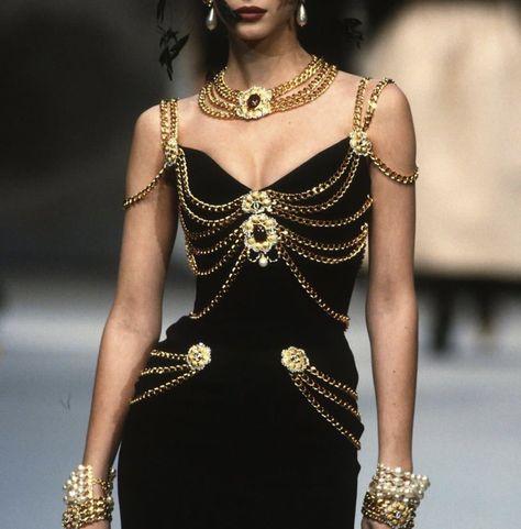 """savanna: """" vlada-sasha-natasha: """"Chanel Couture 1992 """" Sailor Pluto wore this. """" savanna: """" vlada-sasha-natasha: """"Chanel Couture 1992 """" Sailor Pluto wore this."""
