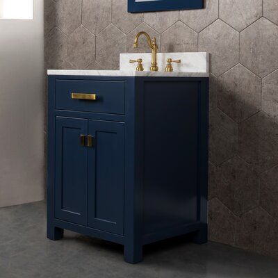Rosecliff Heights Crisler 24 Single Bathroom Vanity Set With Mirror Single Bathroom Vanity Vanity Set With Mirror Vanity Set