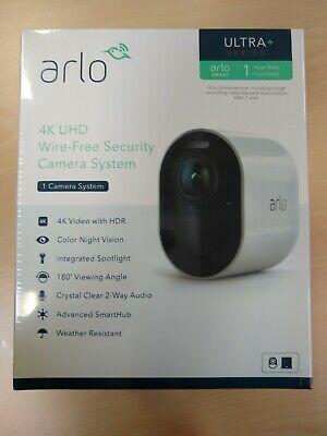 Ad Ebay Link New In Box Arlo Ultra W Smarthub 4k Wireless Hd Security Camera Netgear Vms5140 Wireless Security Cameras Netgear Security Camera
