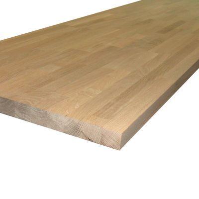 Piano cucina legno grezzo Rovere 3.8 x 60 x 245 cm nel 2019 ...