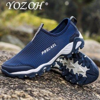 Cheap Shop Yozoh Sepatu Olahraga Pria Sepatu Outdoor Hiking Sepatu