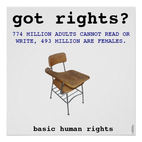 Human Rights Art Poster Zazzle Com In 2020 Poster Art Right To Education Human Rights