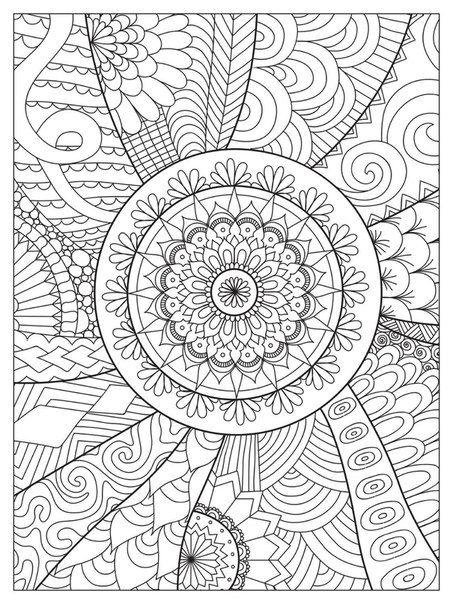 Pin By Olga Mouzakis On Mandala Abstract Coloring Pages Mandala Coloring Pages Pattern Coloring Pages