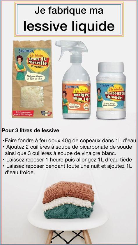 """Pack """"Je fabrique ma lessive liquide"""" - blog déco - clemaroundthecorner"""