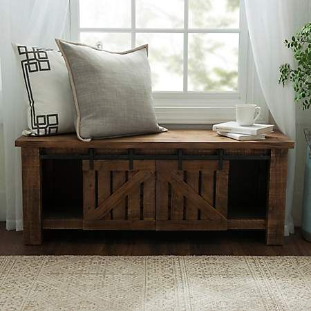 Brilliant Natural Farmhouse Sliding Bench Kirklands Cincinnati Gmtry Best Dining Table And Chair Ideas Images Gmtryco