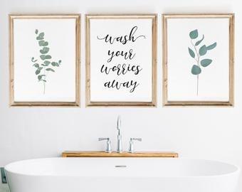Bathroom Wall Decor Etsy Bathroom Wall Decor Funny Bathroom Art Bathroom Prints
