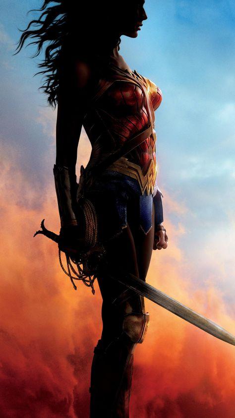 Wonder Woman (2017) Phone Wallpaper | Moviemania