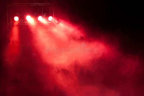 Stage Red Spot Light Concert Stage With Red Spot Light And Smoke Affiliate Spot Re Stage Lighting Design Photography Assignments Stock Photography Free