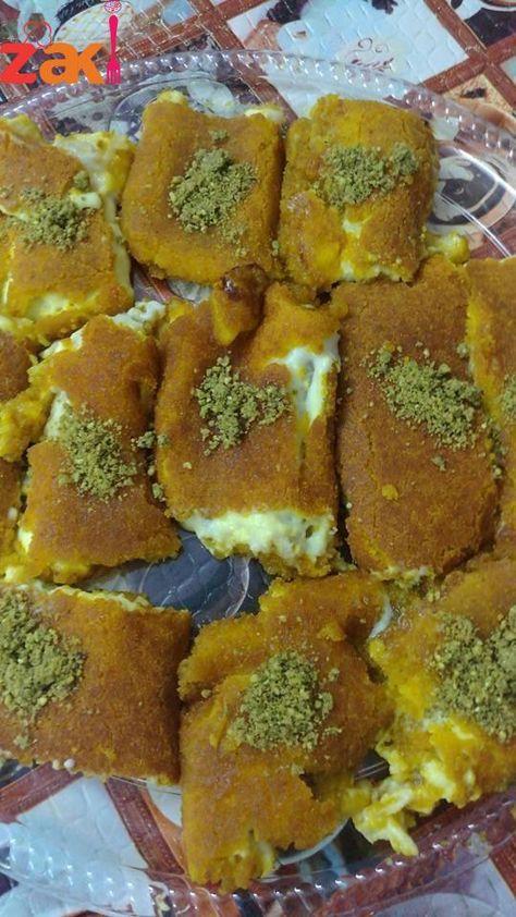 كنافة التوست وصفة لذيذة وسهلة واقتصادية زاكي Arabic Dessert Lebanese Desserts Ramadan Sweets