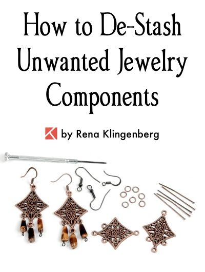 How To Destash Your Unwanted Jewelry Supplies How To Destash