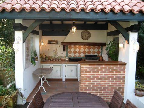 Aménager une cuisine d\u0027été conseils et idées Pool houses, Small