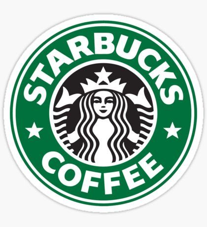 photo regarding Printable Starbucks Logos referred to as Hobbies Stickers in just 2019 Stickers Brand name stickers