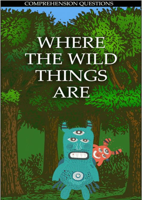 190 Where The Wild Things Are Ideas Wild Book Activities Wild Things Party