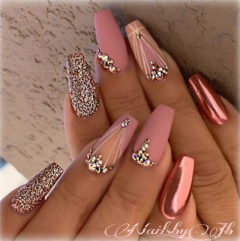 Amazing Wedding Nails For The Bride - Nail Art Connect#weddingnails#bridenails
