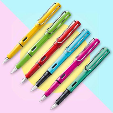 Alpaca Rainbow Pens cute cartoon ballpen jotter planner kids school supplies