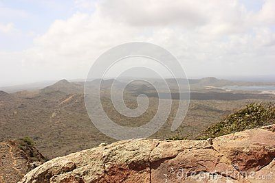 Beautiful Landscape Of The Park In The Mountain Area Of Bonaire On A Verry High Mountain You Can See All The Cact Landscape Beautiful Landscapes Beautiful Park