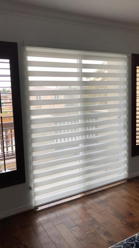 Premier Flat Sheer Shades Blinds Com Window Treatments Living Room Sliding Patio Doors Window Treatment Sliding Door Shades