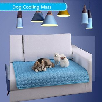 Cartoon Waterproof Dog Cooling Mat For Dog S Summer Beds In 2020
